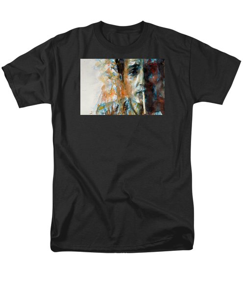 Hey Mr Tambourine Man @ Full Composition Men's T-Shirt  (Regular Fit) by Paul Lovering