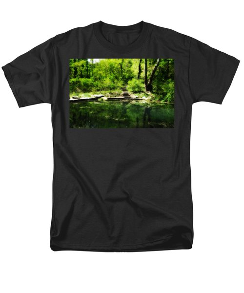 Hidden Pond at Schuylkill Valley Nature Center T-Shirt by Bill Cannon
