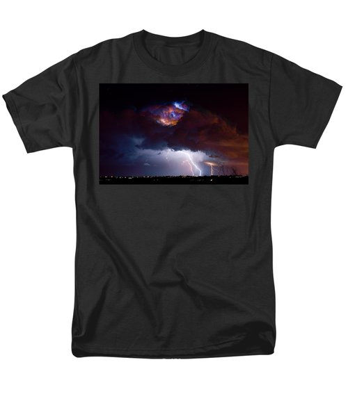 Highway 52 Thunderhead Lightning Cell T-Shirt by James BO  Insogna