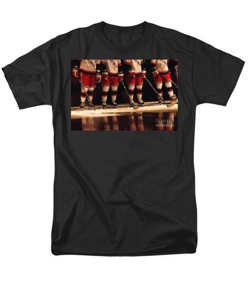 Hockey Reflection T-Shirt by Karol  Livote
