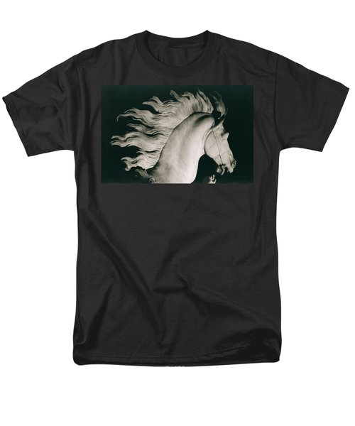 Horse Of Marly Men's T-Shirt  (Regular Fit) by Coustou