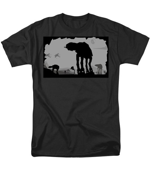 Hoth Machines Men's T-Shirt  (Regular Fit) by Michael Bergman