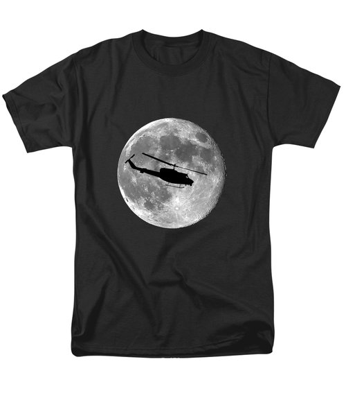 Huey Moon .png Men's T-Shirt  (Regular Fit) by Al Powell Photography USA