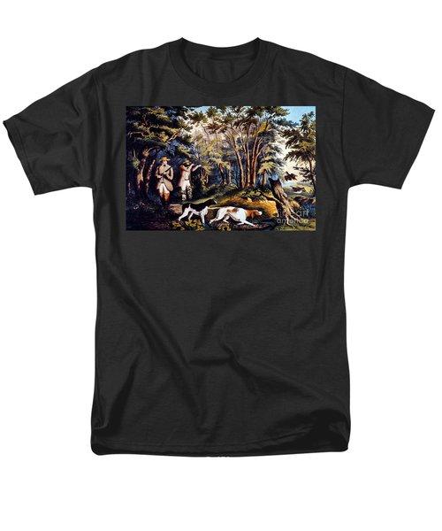 Hunting: Woodcock, 1852 Men's T-Shirt  (Regular Fit) by Granger