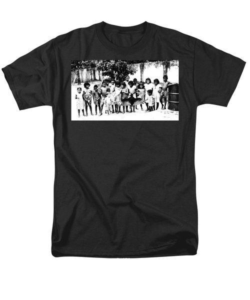 In The Amazon 1953 Men's T-Shirt  (Regular Fit) by W E Loft
