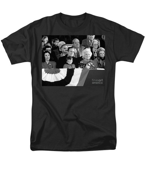 Inauguration Of George Bush Sr Men's T-Shirt  (Regular Fit) by H. Armstrong Roberts/ClassicStock