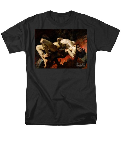 Ixion Thrown Into Hades Men's T-Shirt  (Regular Fit) by Jules Elie Delaunay