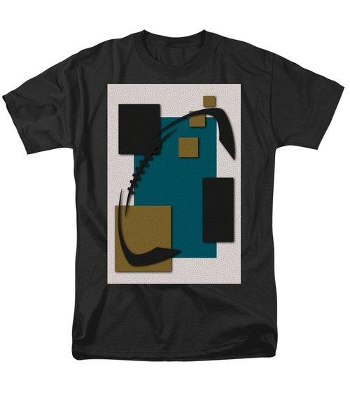 Jacksonville Jaguars Football Art Men's T-Shirt  (Regular Fit) by Joe Hamilton