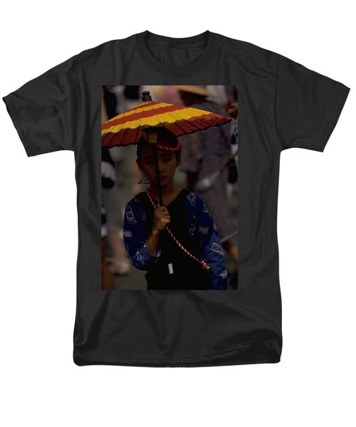 Men's T-Shirt  (Regular Fit) featuring the photograph Japanese Girl by Travel Pics