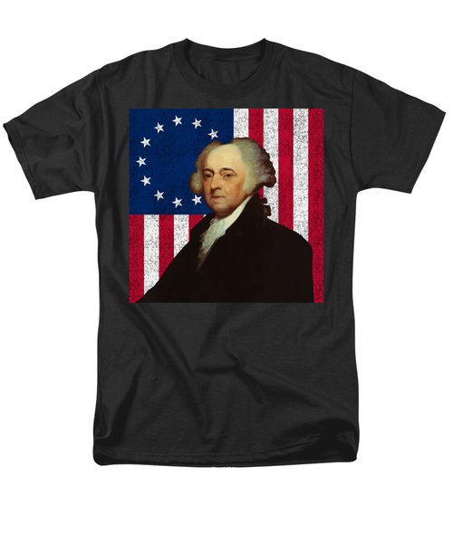 John Adams and The American Flag T-Shirt by War Is Hell Store