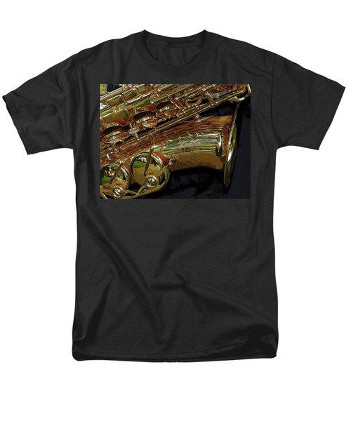 Jupiter Saxophone T-Shirt by Michelle Calkins