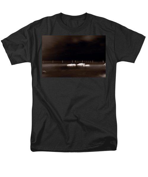 Lake Ice T-Shirt by Steve Gadomski