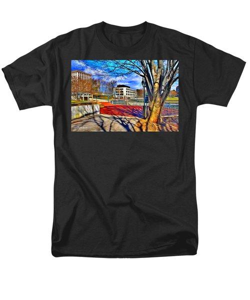 Lake Kittamaqundi Walkway T-Shirt by Stephen Younts