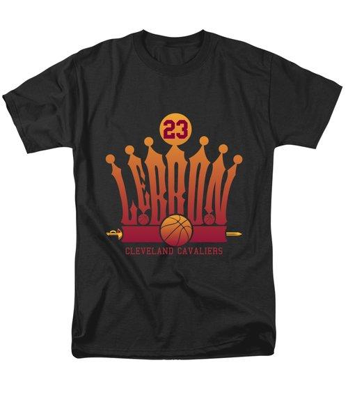 Lebroncrown Men's T-Shirt  (Regular Fit) by Augen Baratbate