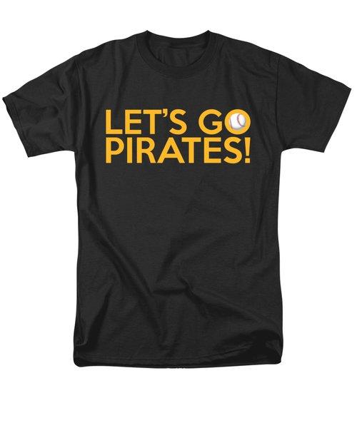 Let's Go Pirates Men's T-Shirt  (Regular Fit) by Florian Rodarte