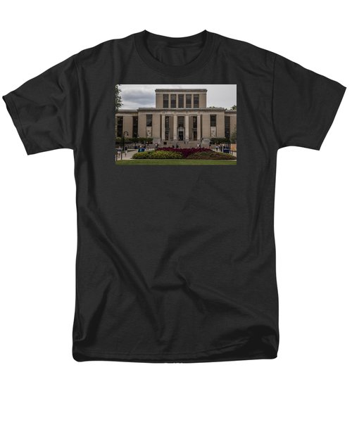 Library At Penn State University  Men's T-Shirt  (Regular Fit) by John McGraw