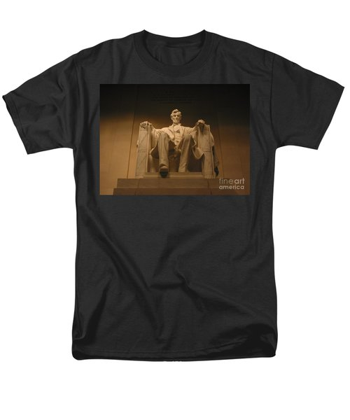 Lincoln Memorial Men's T-Shirt  (Regular Fit) by Brian McDunn