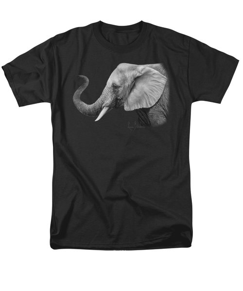 Lucky - Black And White Men's T-Shirt  (Regular Fit) by Lucie Bilodeau