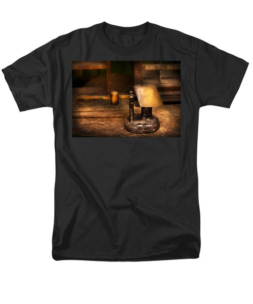 Mailman - The Mail Scale T-Shirt by Mike Savad