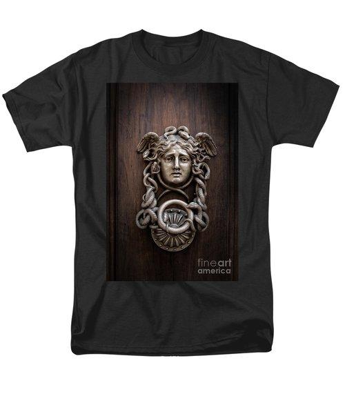 Medusa Head Door Knocker Men's T-Shirt  (Regular Fit) by Edward Fielding