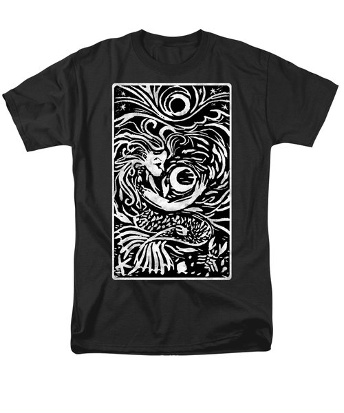 Mermaid Moon Men's T-Shirt  (Regular Fit) by Katherine Nutt