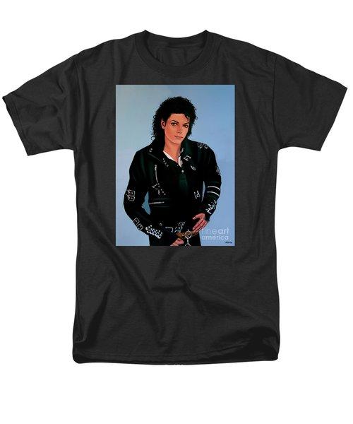 Michael Jackson Bad Men's T-Shirt  (Regular Fit) by Paul Meijering
