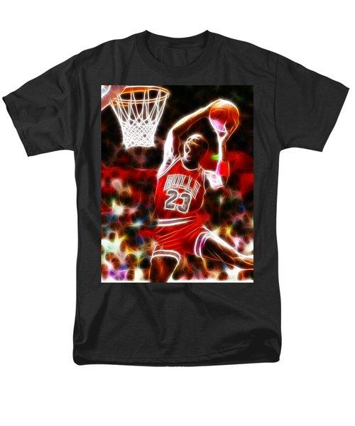 Michael Jordan Magical Dunk T-Shirt by Paul Van Scott