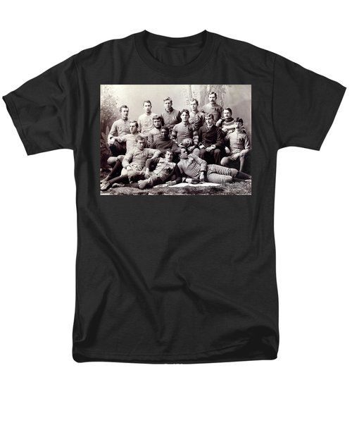 Michigan Wolverine Football Heritage 1890 Men's T-Shirt  (Regular Fit) by Daniel Hagerman