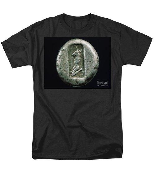 Minotaur On A Greek Coin Men's T-Shirt  (Regular Fit) by Granger