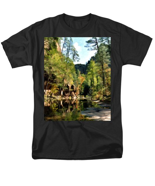 Morning at Oak Creek Arizona T-Shirt by Kurt Van Wagner