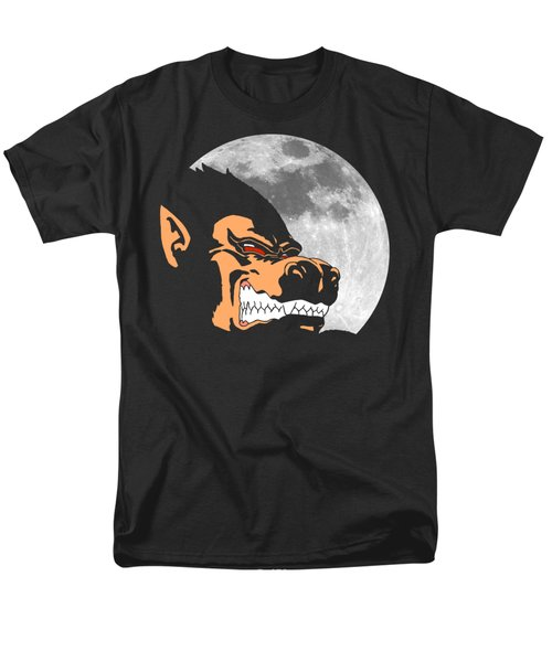 Night Monkey Men's T-Shirt  (Regular Fit) by Danilo Caro