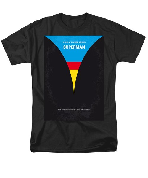 No086 My Superman minimal movie poster T-Shirt by Chungkong Art