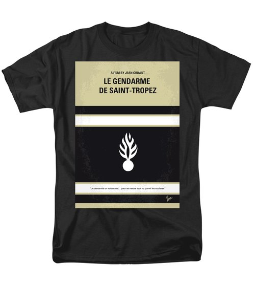 No186 My Le Gendarme de Saint-Tropez minimal movie poster T-Shirt by Chungkong Art