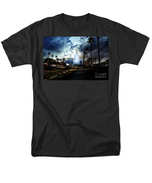 Oakland California Temple . The Church of Jesus Christ of Latter-Day Saints T-Shirt by Wingsdomain Art and Photography