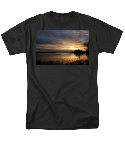 Ohio River Sunset T-Shirt by Sandy Keeton