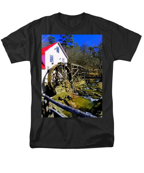 Old 1886 Mill T-Shirt by KAREN WILES