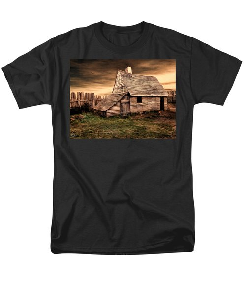 Old English Barn T-Shirt by Lourry Legarde