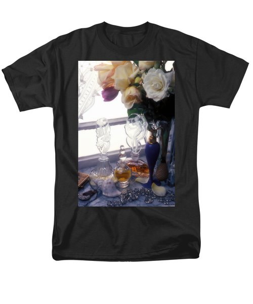Old Perfume Bottles T-Shirt by Garry Gay