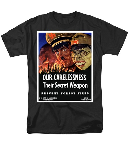 Our Carelessness - Their Secret Weapon T-Shirt by War Is Hell Store