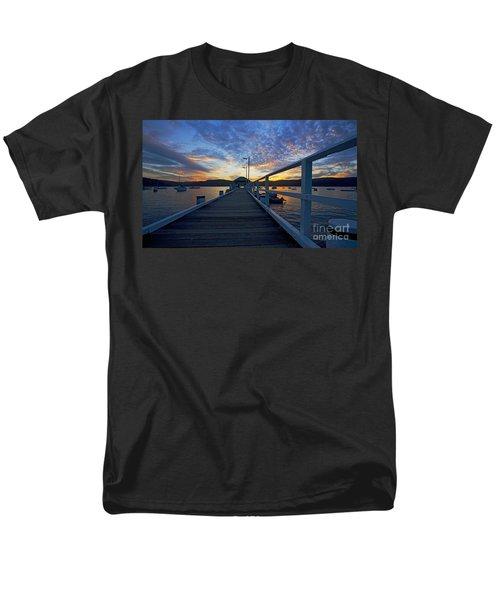 Palm Beach wharf at dusk T-Shirt by Sheila Smart