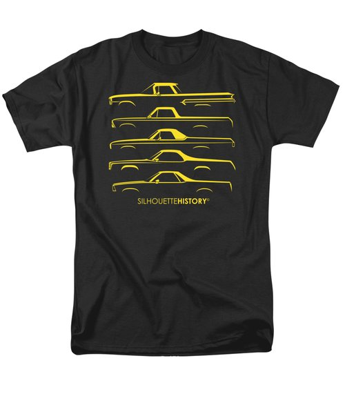 Pickupino Silhouettehistory Men's T-Shirt  (Regular Fit) by Gabor Vida