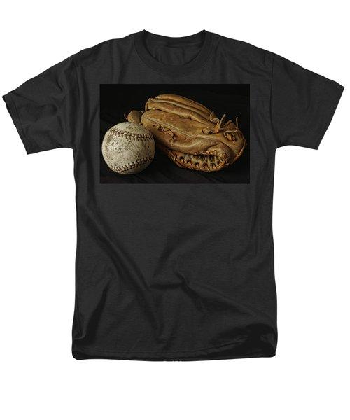 Play Ball Men's T-Shirt  (Regular Fit) by Richard Rizzo