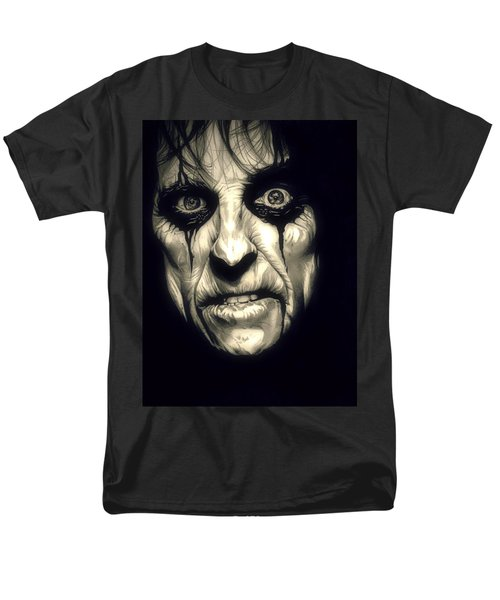 Poison Alice Cooper Men's T-Shirt  (Regular Fit) by Fred Larucci