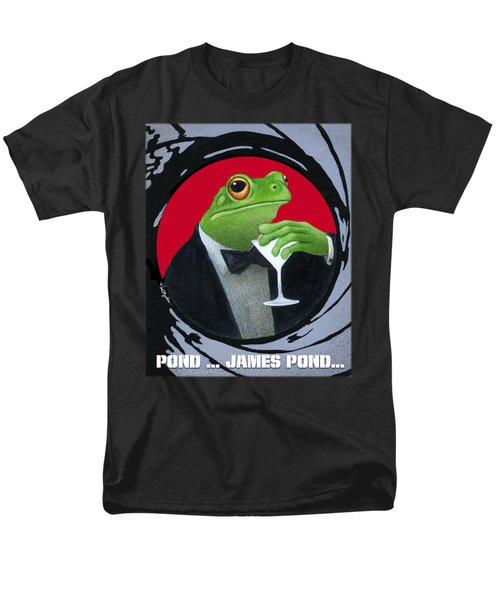 Pond...james Pond... Men's T-Shirt  (Regular Fit) by Will Bullas