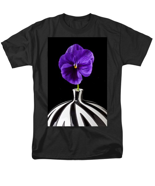 Purple Pansy T-Shirt by Garry Gay