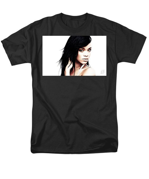 Robyn Rihanna Fenty Men's T-Shirt  (Regular Fit) by The DigArtisT