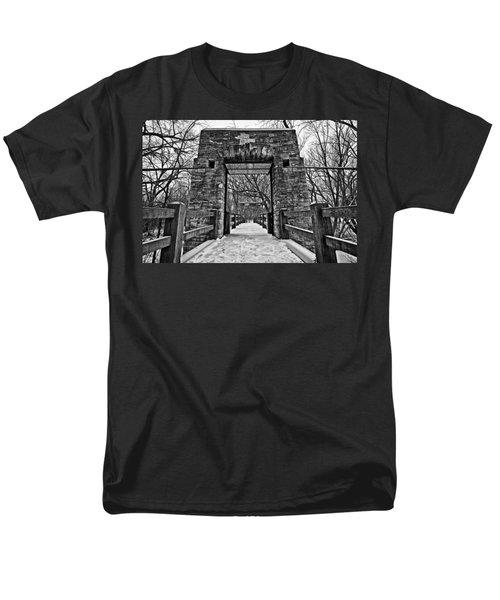 Rock Wood Steel T-Shirt by CJ Schmit