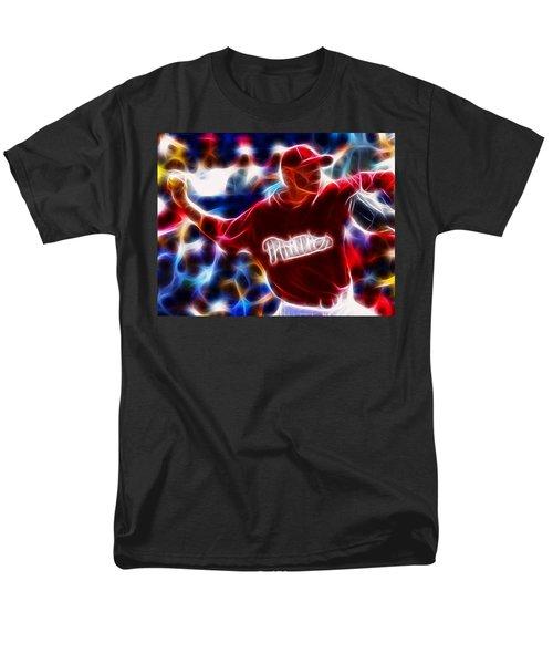 Roy Halladay Magic baseball T-Shirt by Paul Van Scott