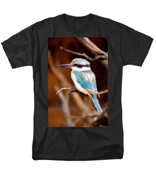 Sacred KingFisher T-Shirt by Mike  Dawson