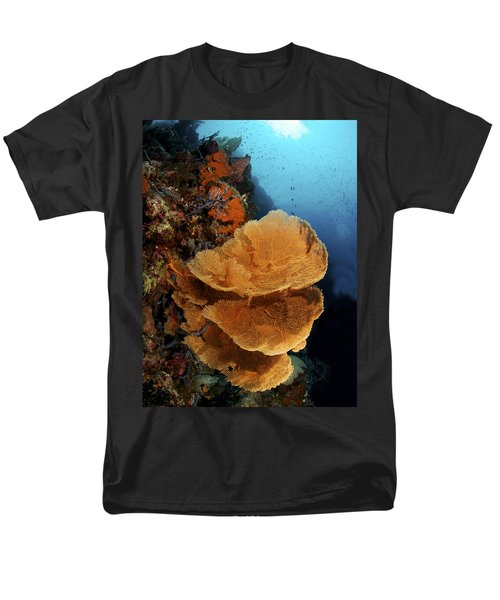 Sea Fan Coral - Indonesia T-Shirt by Steve Rosenberg - Printscapes